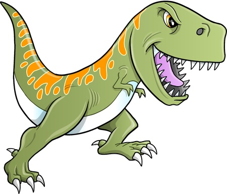 Tough Tyrannosaurus Dinosaur  Illustration