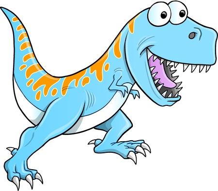 tyrannosaurus: Silly Tyrannosaurus Dinosaur Illustration