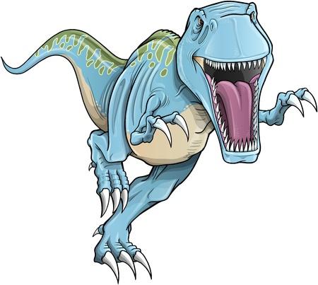 tiranosaurio rex: Tyrannosaurus Rex Dinosaur ilustración