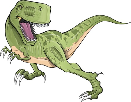 trex: Tyrannosaurus Rex Dinosaur T-Rex Vector