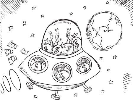 Alien Debt rescue