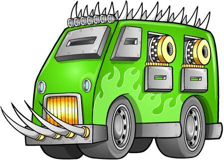 apocalyptic: Apocalyptic Van Vehicle