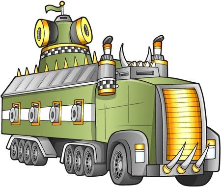 blaster: Apocalyptic  Truck