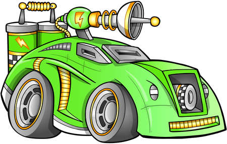 Apocalyptic Car Vehicle Vector  Vector