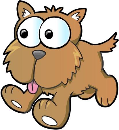 with illustration: Cute Puppy Dog Illustration Illustration
