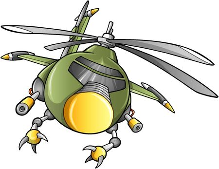 Robot Army Helicopter