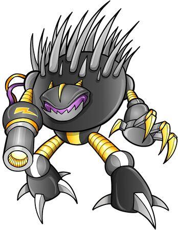 cyborg: Warrior Robot Cyborg Soldier Vector