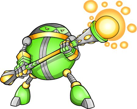 cyborg: Soldier Warrior Robot Cyborg Extranjero Vector