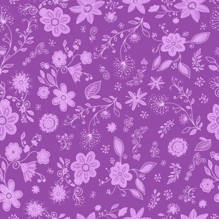 springtime: Springtime Flower Seamless Pattern