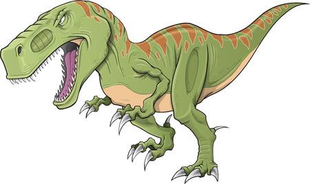 tiranosaurio rex: Tyrannosaurus Dinosaur Ilustraci�n Arte