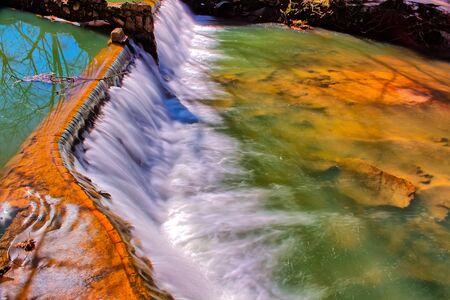spillway: Taken on January 29, 2016 - Lullwater Waterfall Spillway