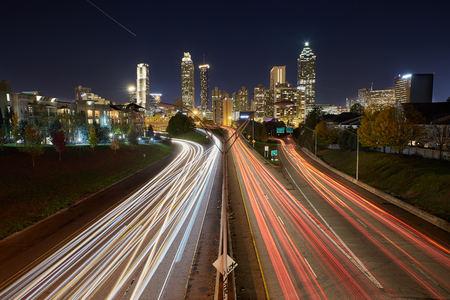 View of Atlanta from Jackson Street Bridge