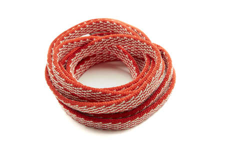 One Red Rope, Coiled in a spiral