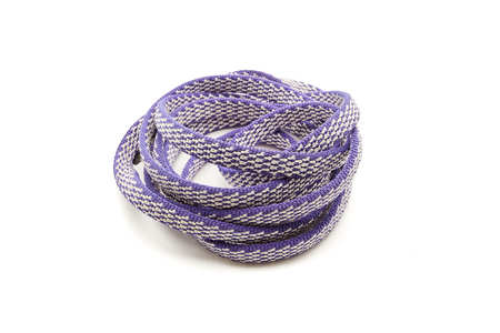 One Purple Rope, Coiled in a spiral