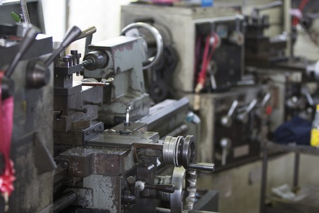 airbag: Old milling machine for small factory
