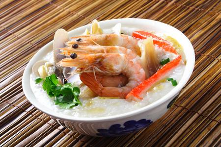 Seafood Porridge Фото со стока