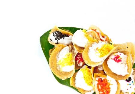 sweetmeat: kind of Thai sweetmeat   Stock Photo