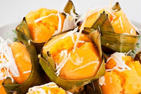 Délicieux dessert thaïlandais