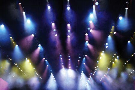 Theater Bühnenbeleuchtung Standard-Bild - 4563530