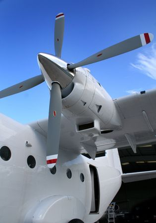Small cargo turboprop aircraft