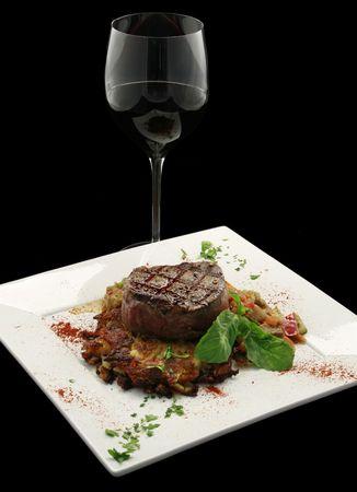 Filet Mignon au poivre French cuisine 1