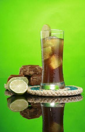 Sugar cane juice cold drink