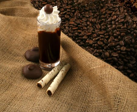 shaken: Coffee liquor and chocolate
