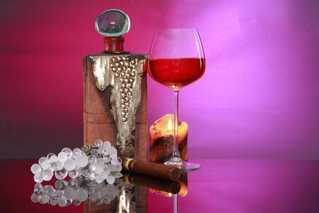 hr: Candlelight Brandy, cigar and good company hr