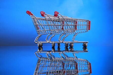 Grocery carts Stock Photo - 4675555