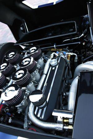 engine powered: Gasoline powered sports engine