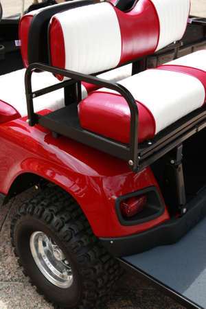 power operated: Electric car rear fender detail