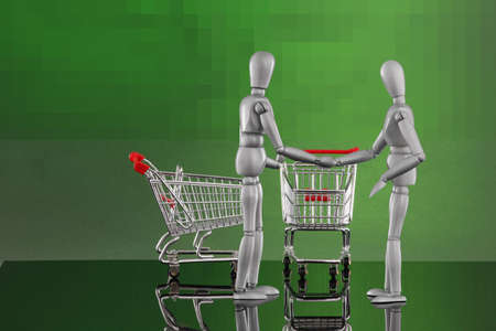 encounters: Shopping cart encounters - glad I met you!