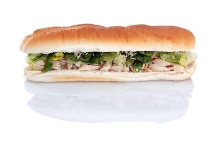 Chicken Caesar sub
