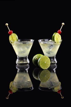 stirred: Caipirinha, Whisky or Pisco Sour