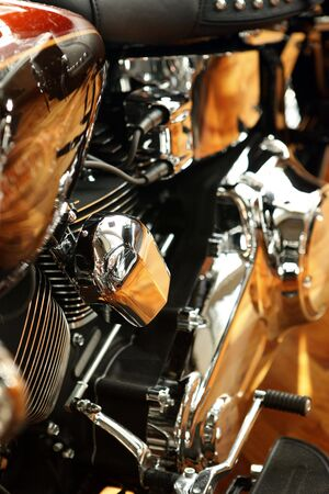Close up of a high power motorcycle Stock Photo - 5222107