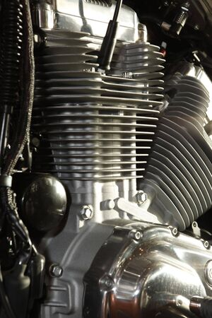 Close up of a high power motorcycle Stock Photo - 5222083