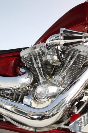 Close up of a high power motorcycle Stock Photo - 5222113