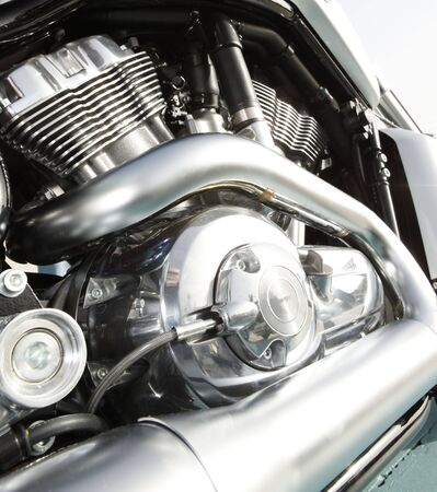 Close up of a high power motorcycle Stock Photo - 5222046