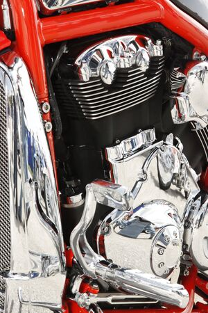Close up of a high power motorcycle Stock Photo - 5222134