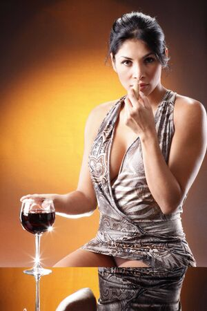 After corking a lot of red wine, you love yours more and more. photo