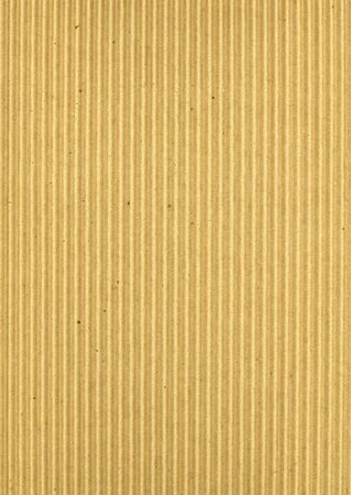 Medium corrugated cardboard background photo