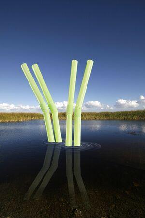 waterbesparing: Zoetwater instandhoudings concept