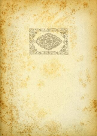 engravings: Renaissance engravings on old paper Stock Photo