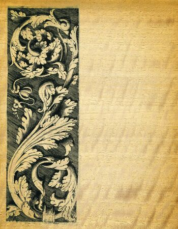 engravings: Renaissance engravings on  movinka wood