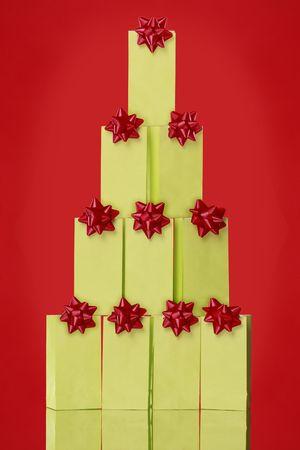 Creative gift paper bag christmas tree you can brand