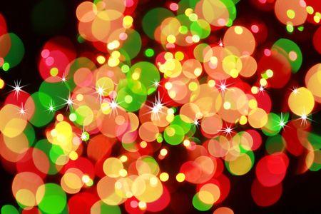 Blurred Christmas Blurred Christmas Light
