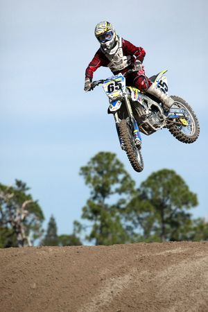 Opening Seminole motocross spring 2010 championship practices Stock Photo - 6889806