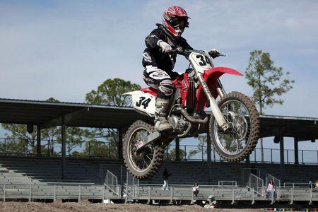 Opening Seminole motocross spring 2010 championship practices Stock Photo - 6889807
