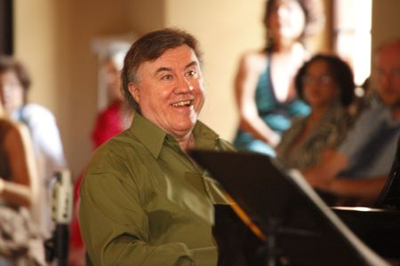 MIAMI BEACH - JUNE 20: Jazz Pianist Brian Murphy performs onstage at Jamie Ousley�s Latest CD release at Bath Club�s Cape Cod Room, June 20, 2010