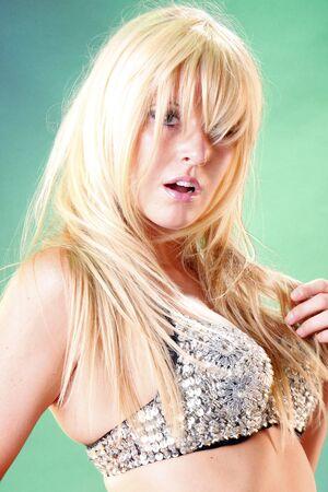 Postrait of a gorgeous blond photo
